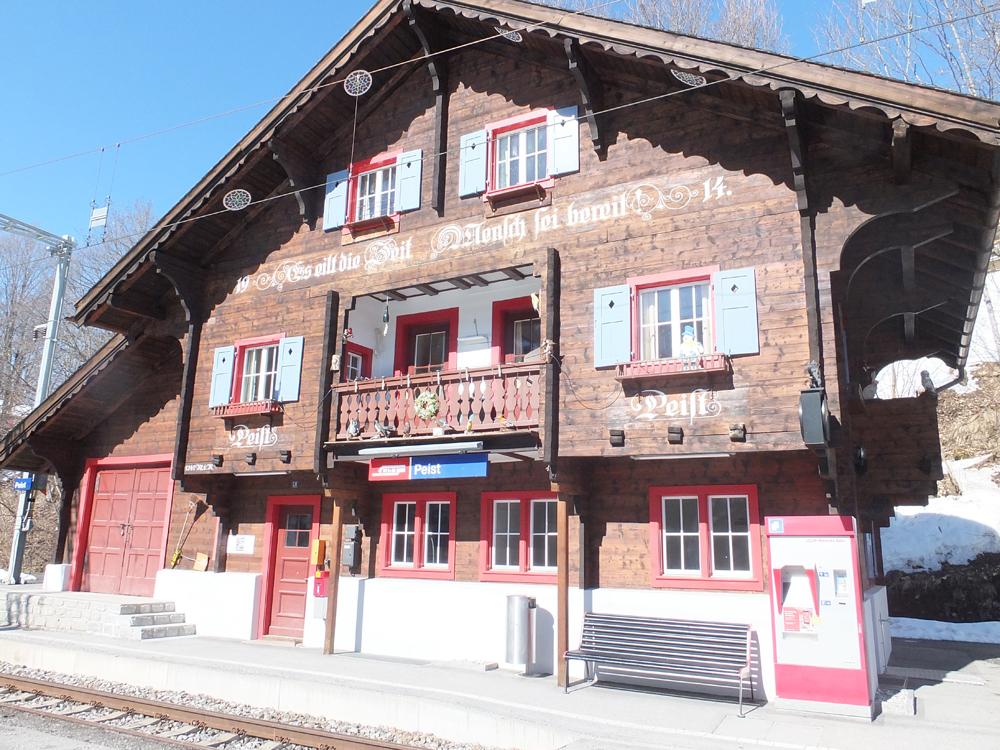 Bahnhof Peist