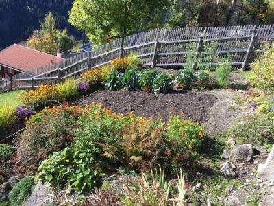 Garten des BnBs